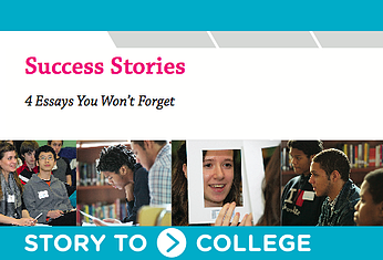 This e-book has examples of four great college essays.