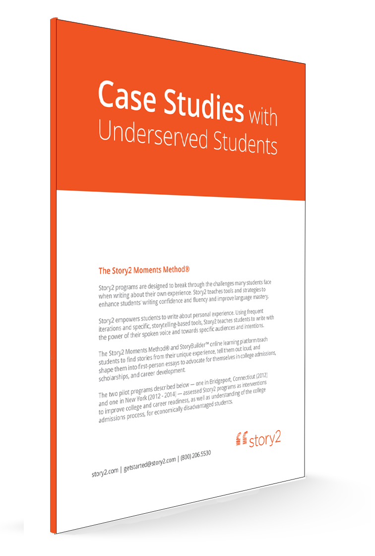 Story2 | Case Study with Underserved Students