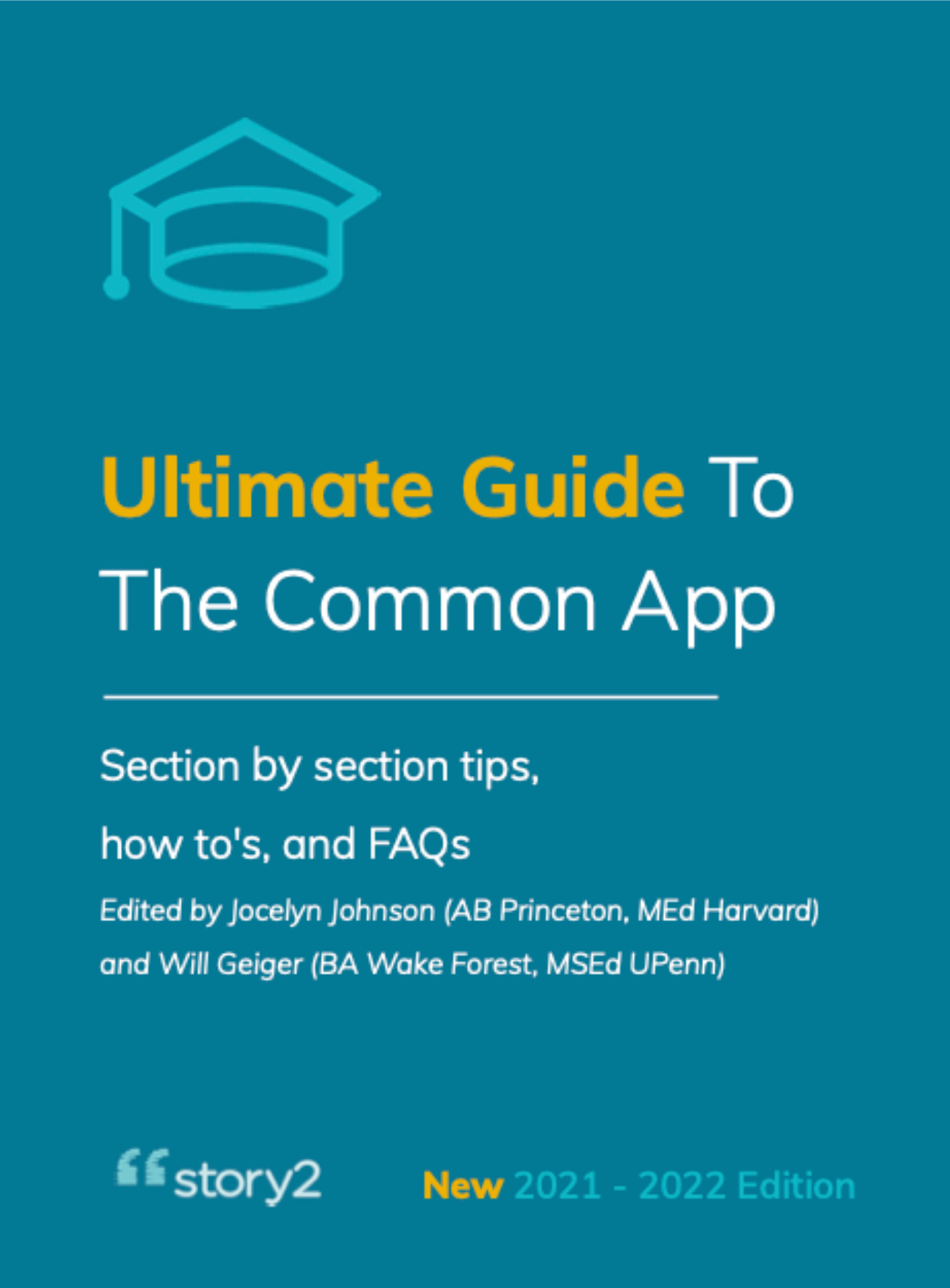 Guide to Common App Cover 2021