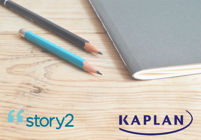 Story2 Partners with Kaplan Test Prep