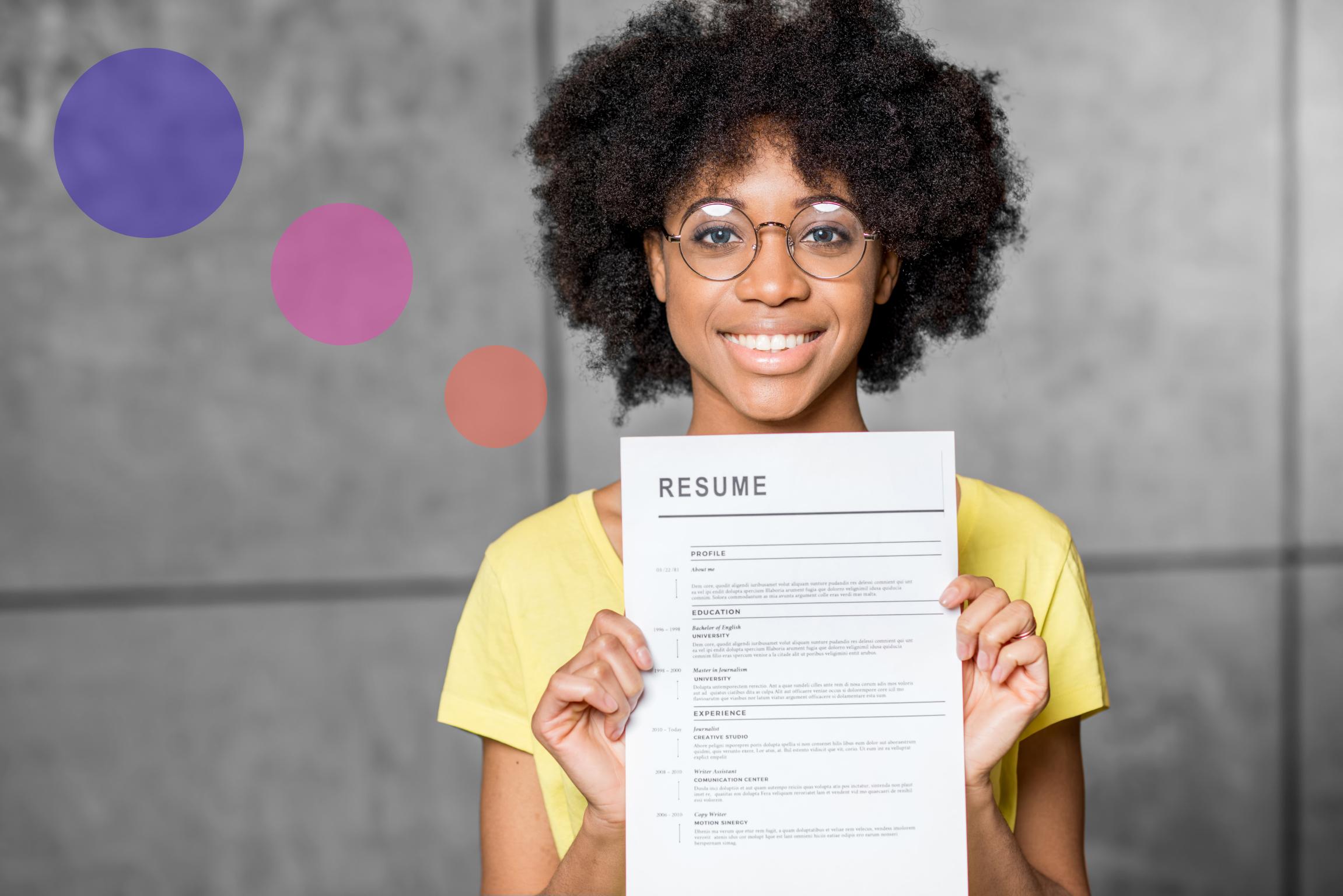 Choosing the best Google Docs resume template